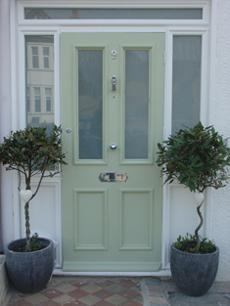 Front door hammers and cupcakes for Victorian front door colours